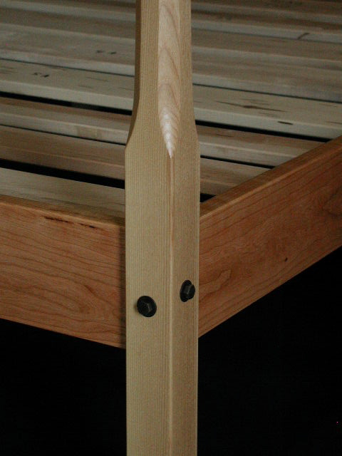 Cherry Pencil Post Bed Made In Vermon