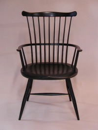 painted windsor arm chair by Timothy Clark