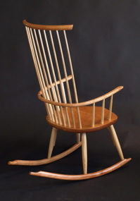 windsor rocking chairs made by hand in Vermont