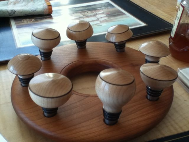 maple wine stoppers