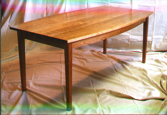 cherry dining table handmade in vermont Cherry Dining Table